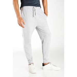 JOGGER FRENCH TERRY CON FRANJA LATERAL JASPE